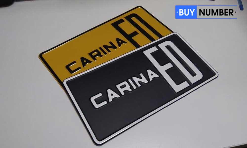 Любые красивые таблички на автомобили