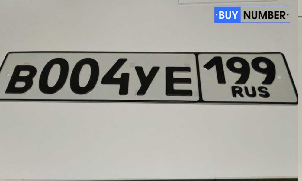 Сувенирный магнитный номер