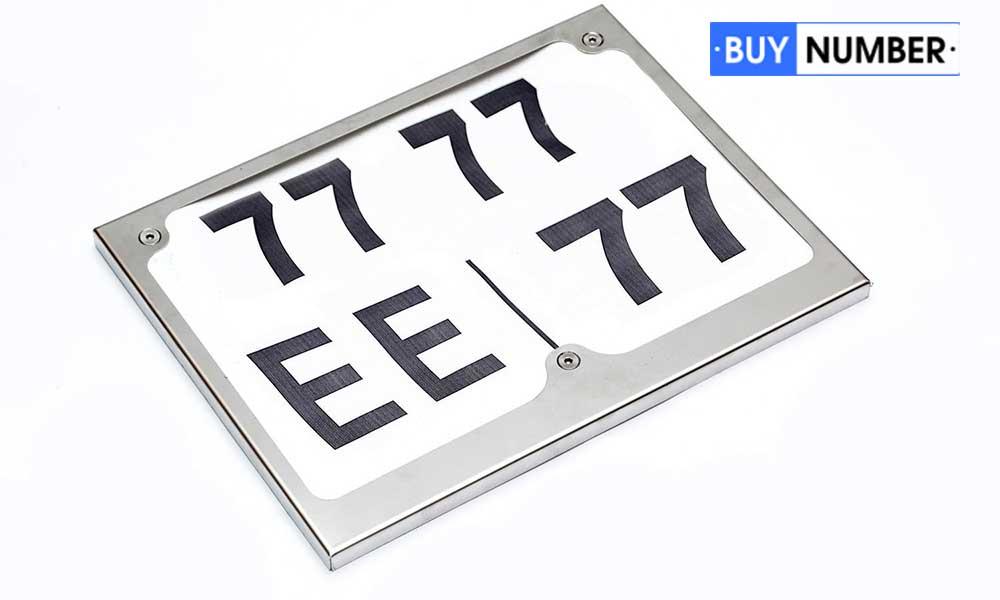 Сувенирный номер на квадроцикл