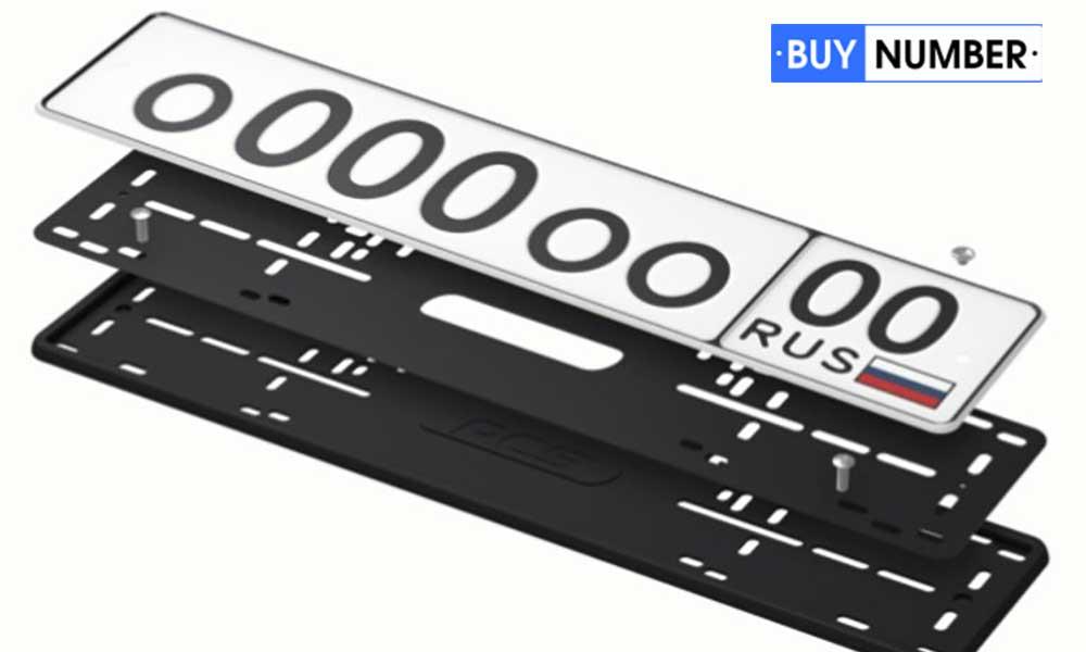 Рамки для номера силиконовые