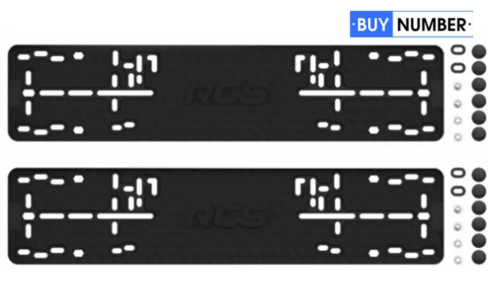 Рамки для автономеров RCS