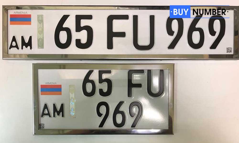 Железные рамки на автомобильные номера