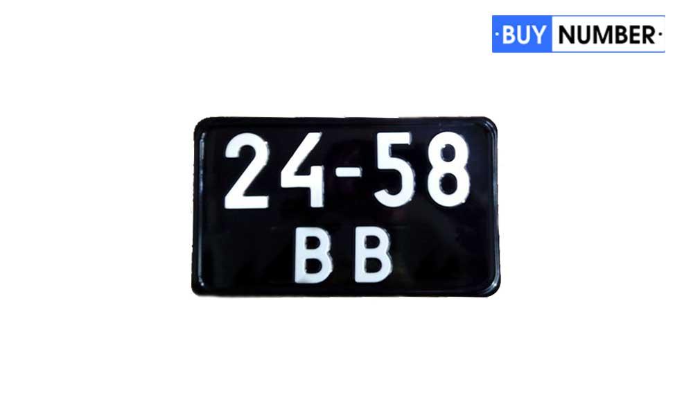 Квадратные черные номера для военной техники СССР