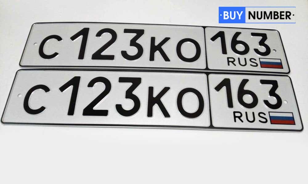 Дубликат номерного знака на авто - 163 региона