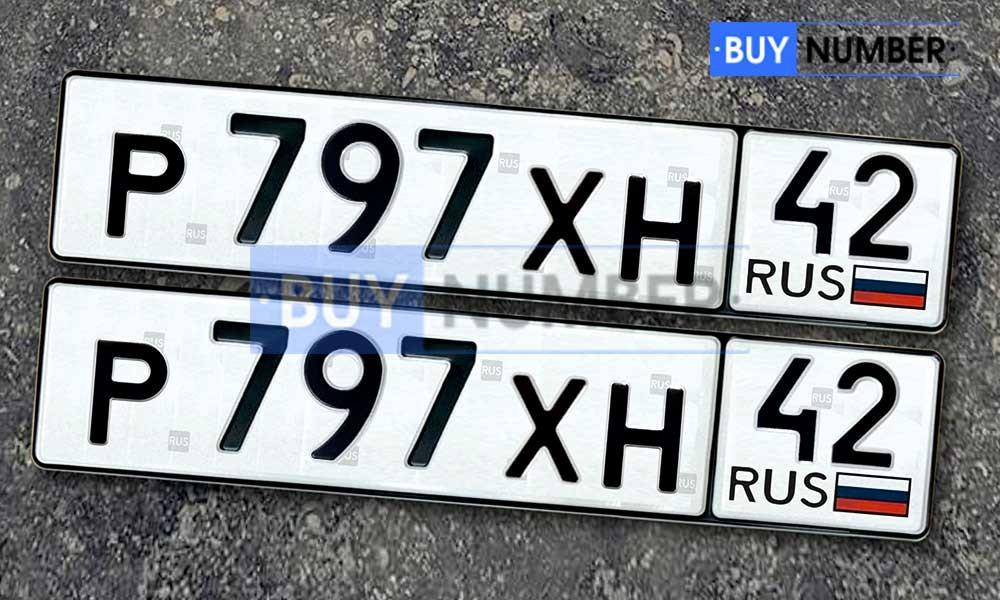 Дубликаты автомобильных гос. номеров по ГОСТ р50577-93 с 42 регионом