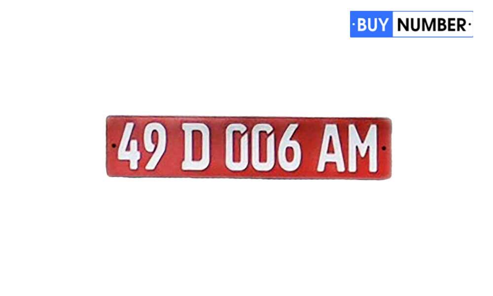 Дубликат дипломатического армянского номера на авто
