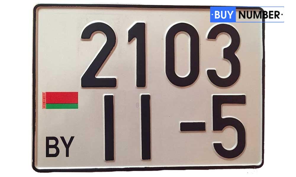 Дубликат квадратного Белорусского гос номера на автомобиль