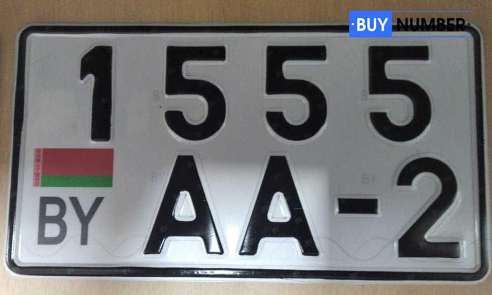 Дубликаты Белорусских номеров для мотороллеров