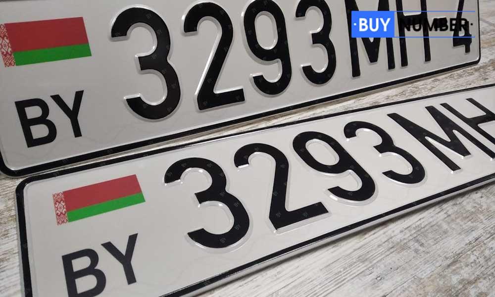 Белорусские автомобильные номера