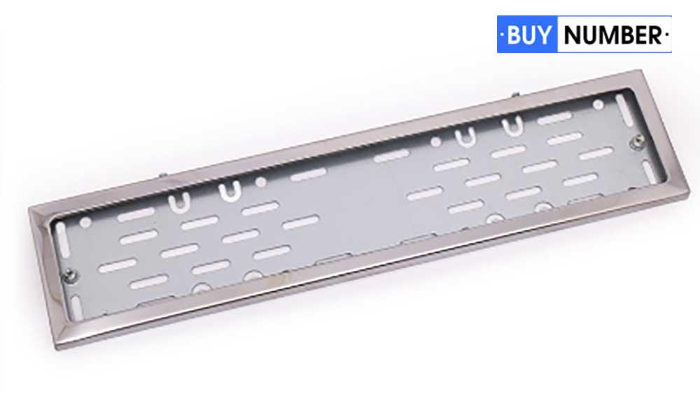 Рамки для номеров на авто металлические
