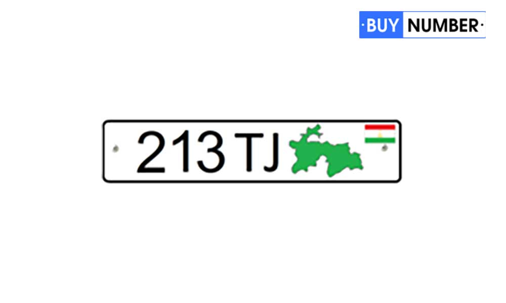 Дубликат гос номера Таджикистана на авто высшего руководства страны