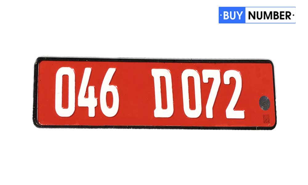 Дубликат дипломатического Грузинского гос номера на автомобиль