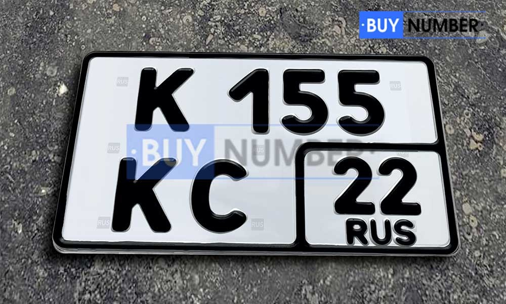 Гос номер нового образца без флага жирным шрифтом на авто