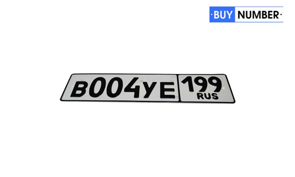 Номер жирным шрифтом на авто 07 региона