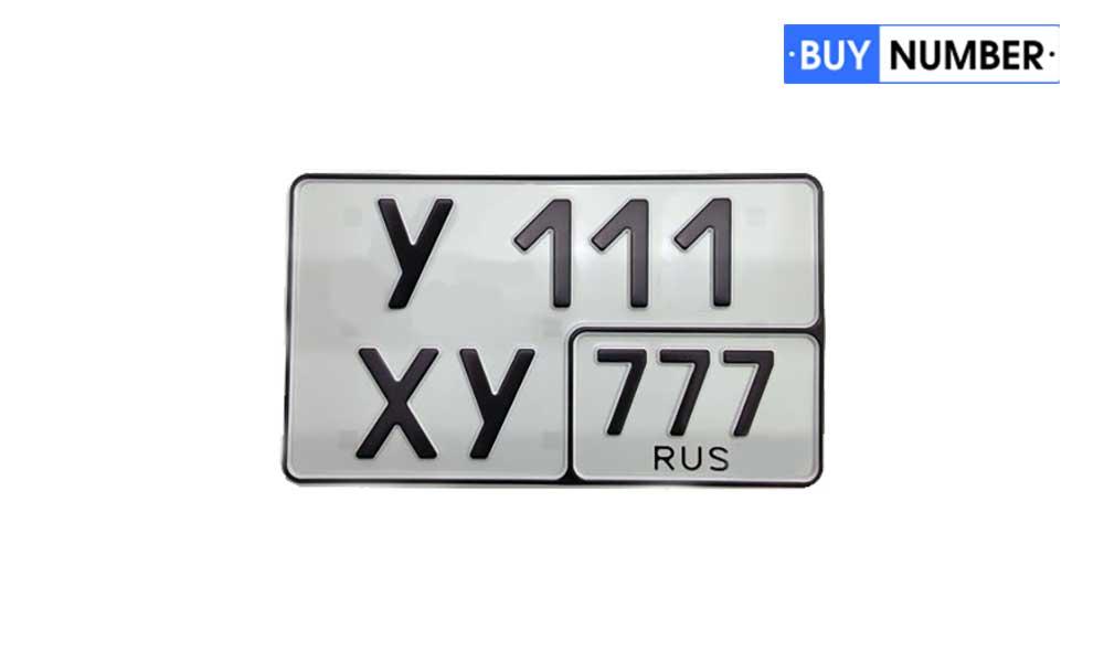 Номер нового образца жирным шрифтом на авто 11 региона