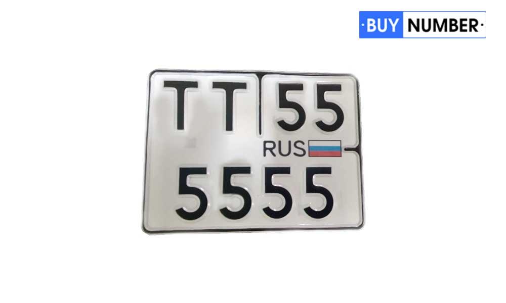 Номерные знаки на квадроциклы старого образца тип 1993 года