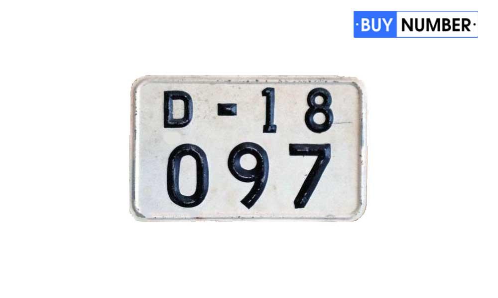 Квадратные дипломатические номера на авто типа 1967 года по ГОСТ